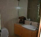 Singapore upscale condo, Avalon  - common bathroom
