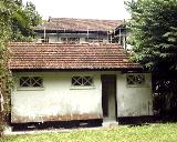Guest's house. Mount Pleasant black and white bungalows. Singapore