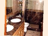 The Clayton: Dual basins in guest bathroom too.
