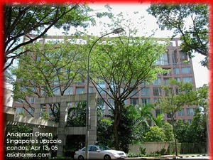 To rent upscale low density Anderson Green condos, tel: +65 9668-6468  asiahomes.com