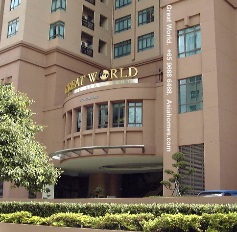 Entrance To Great World Serviced Apartment