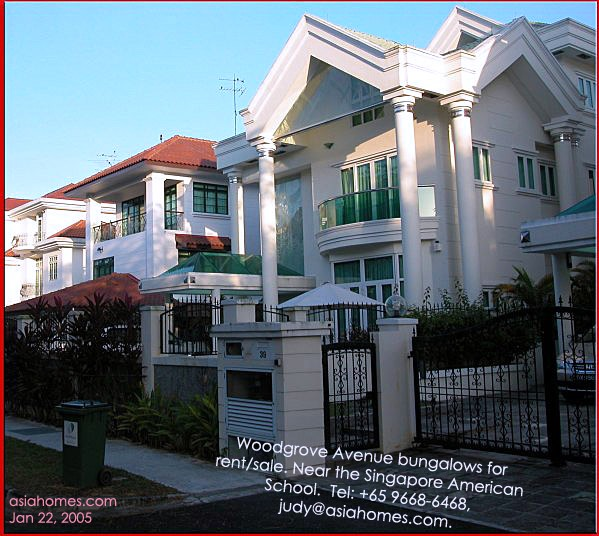 Large Detached Houses Bungalows For Rent Near The American School Asiahomes