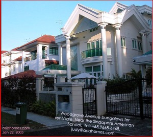 Large detached houses (bungalows) for rent near the American School. asiahomes.com