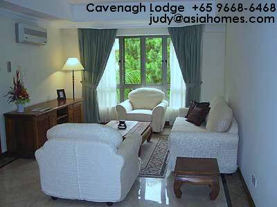 Singapore low rise serviced apartment, Cavenagh Lodge, downtown