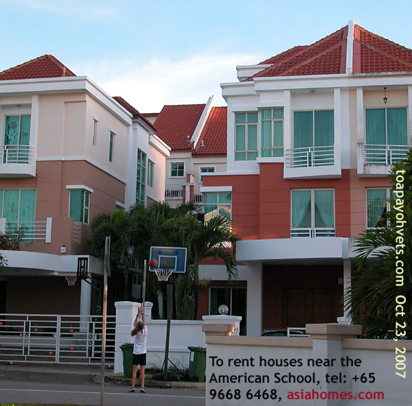 Singapore Real Estate Condos, Houses, Near American School