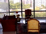 Four Seasons Park - high windows, separate dining area